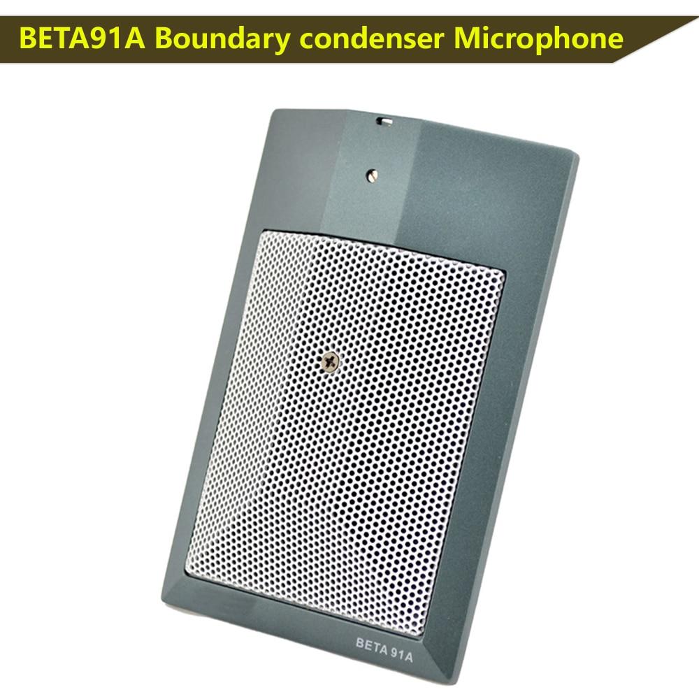 91A Mikrofon BETA91A Grenze kondensator mikrofon halb-nieren kondensator mikrofon