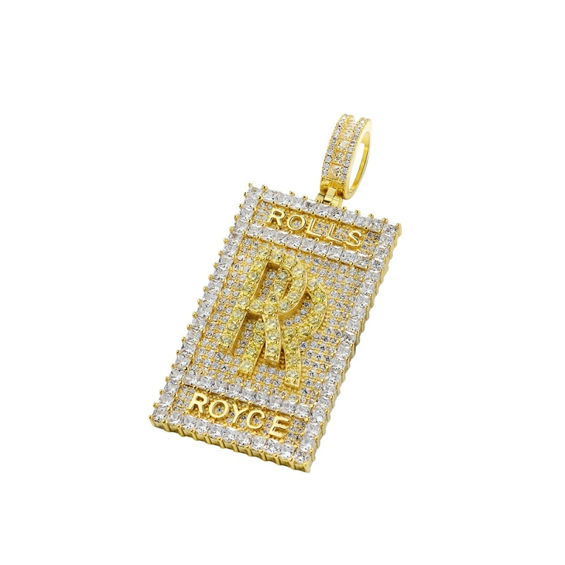P&Y Custom Hip Hop Jewelry 925 Sterling Silver Hand Setting AAAAA CZ Lab Diamond Bling Out Men Women Pendant
