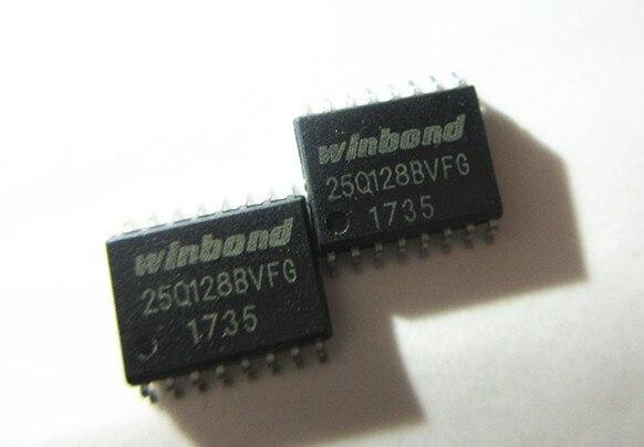 10 Uds W25Q128 W25Q128BVFIG W25Q128BVFG 16MFLASH SOP16 Original nuevo 1 orden