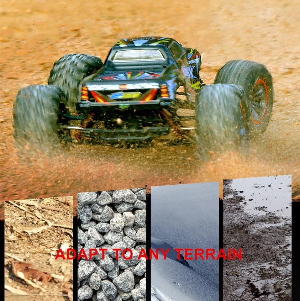 Xinlehong Toys 1/10 Rc Car 9125 48km/h High Speed Remote Control Racing Car Truck Off-Road Buggy Vehicle Electronic Adults Boy enlarge