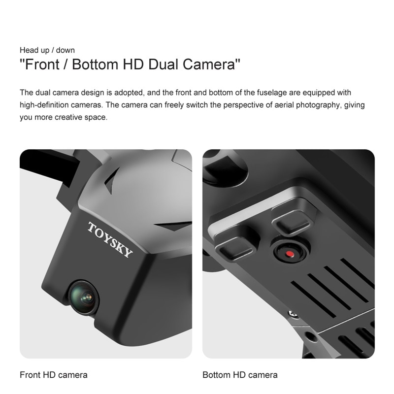 NEW RC Drone Foldable Drone Portable 4k HD Dual Camera GPS Positioning 5G Image Transmissionrc Quadcopter Toys Gift For Boys enlarge