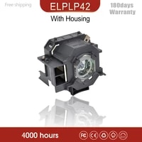 high quality for elplp42 new replacement projector lamp module for epso n emp 400w eb 410w eb 140 w emp 83h powerlite 822 h330b