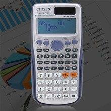 Nouveau Fx-991es-plus Original mignon calculatrice scientifique fonction étudiant calculatrice école bureau deux voies puissance graphique