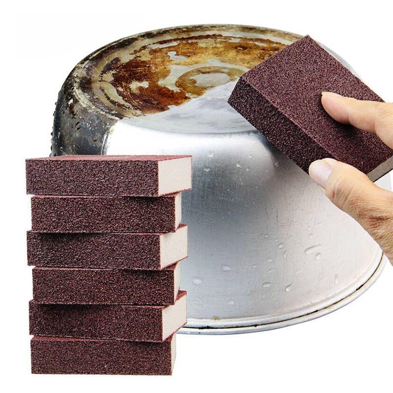 1PC Nano Sponge Eraser for Removing Rust Cleaning Cotton Kitchen  Accessories Descaling Clean Rub Pot Kitchen Gadgets Tools. недорого