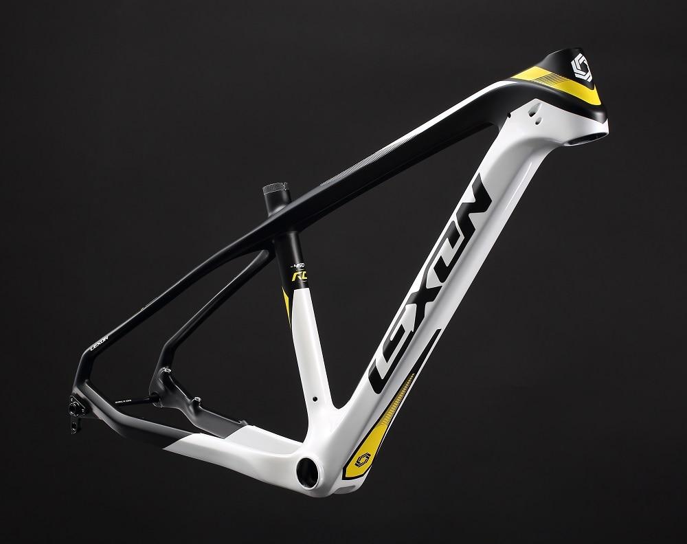 lexon 27.5inch Mountain bike frame/Hard tail bike frame/ carbon bike frame MTB frame  Carbon frame