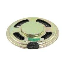 """1.4"""" Diameter Aluminum Shell Round Slim Internal Magnet Speaker 8 Ohm 0.5W"""