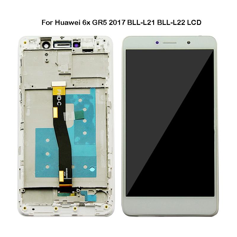 55 polegada alta qualit para huawei honor 6x display com tela de toque bln l24 al10
