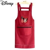 disney fashion new 2021 waterproof and oilproof waist simple sweet western cute cartoon comfortable apron