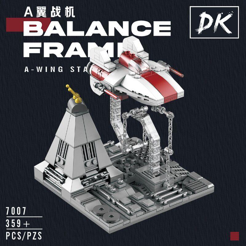 NEW A-WING X-wing Millennium Star Wars Falcon Tensegrity Sculptures Anti Gravity Dynamic Physics Balance Building Blocks Bricks