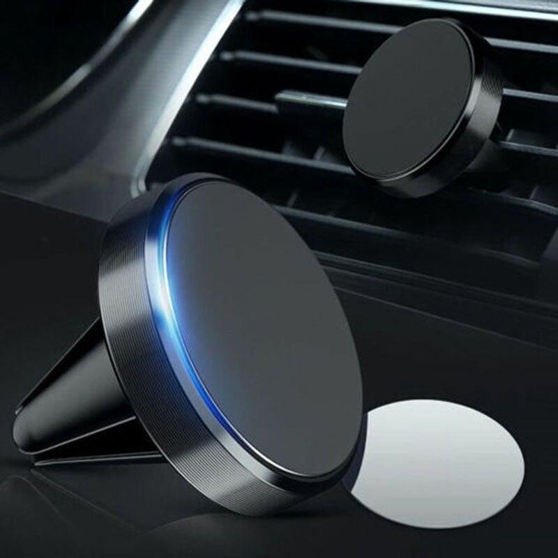 Автомобильный держатель для телефона, магнитный автомобильный держатель, держатель для телефона для кондиционера, вентиляции, магнитный д...