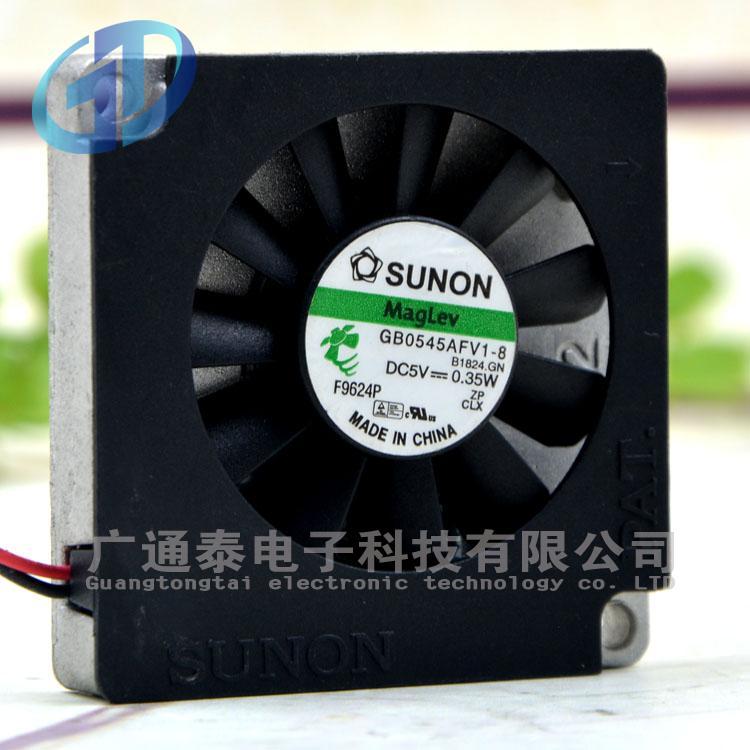 Ventilador de dissipação de calor sunon GB0545AFV1-8 dc5 0.35w 5500rpm 4510