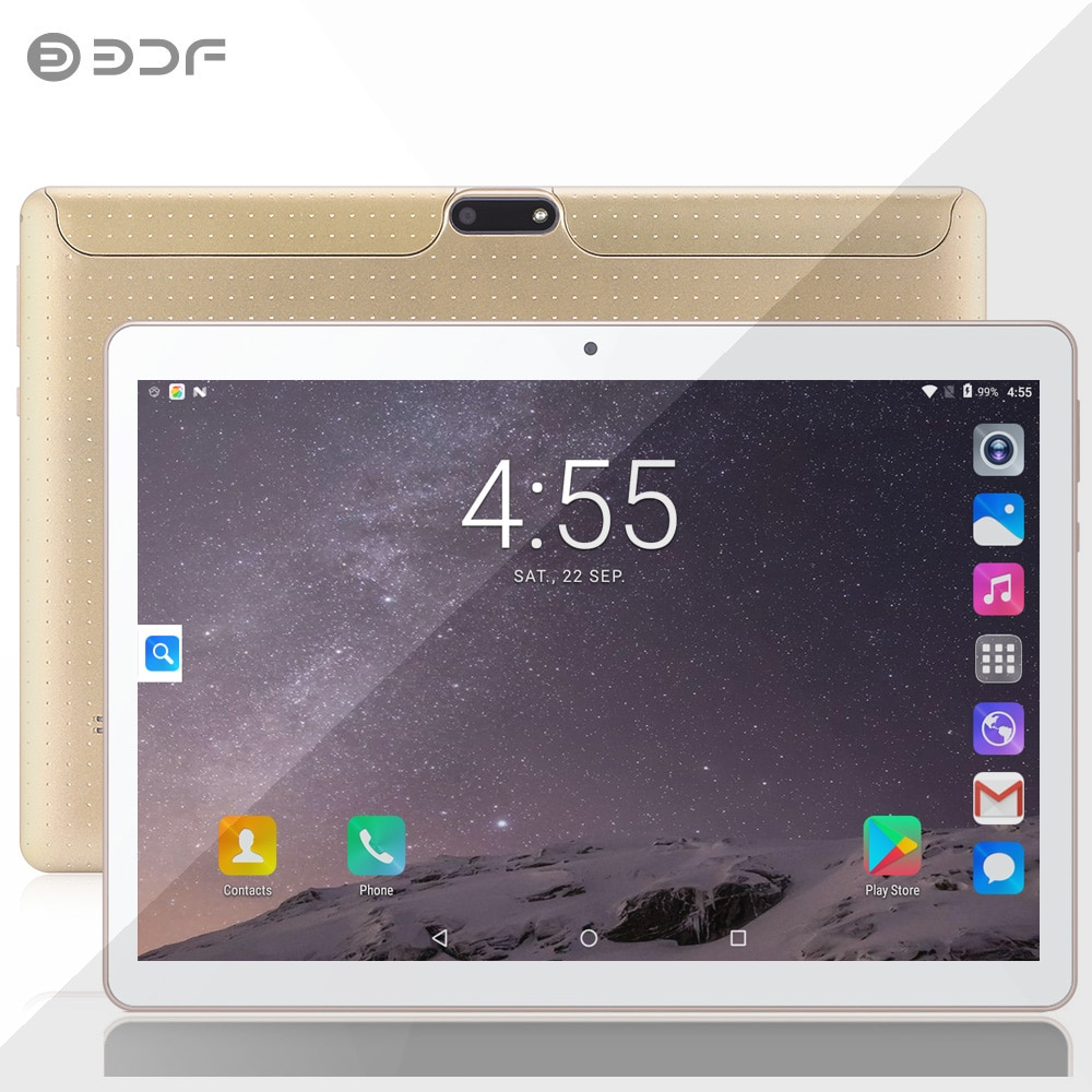 New Original 10 Inch Tablet Pc 3G Phone Duall Call SIM Cards Android 7.0 Quad Core Bluetooth WiFi GPS Tablet Google Play 10.1