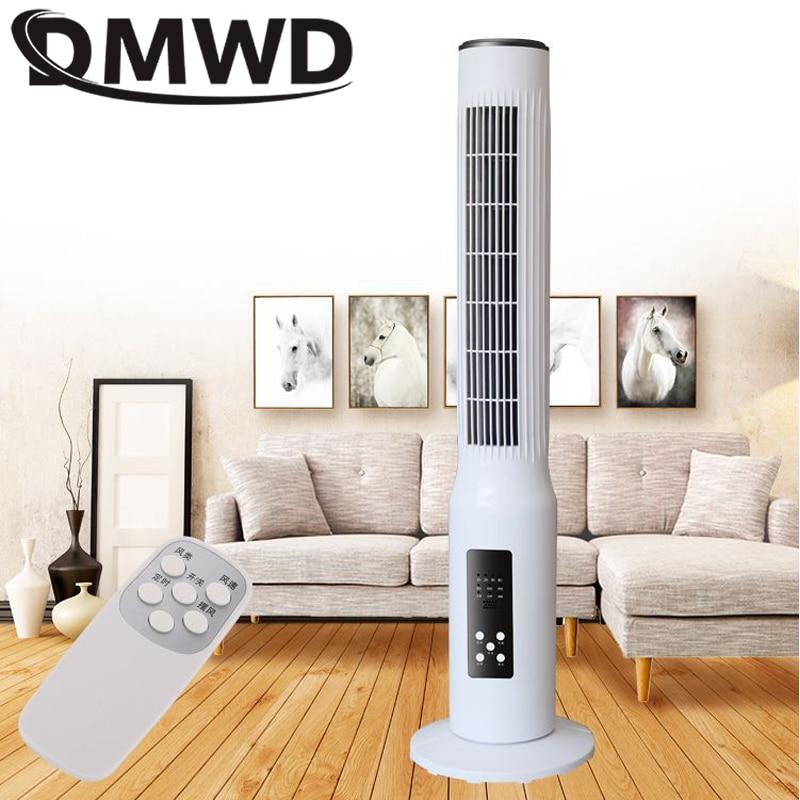 Dmwd 45w ventilador de refrigeração ar elétrico tipo torre piso suporte refrigerador mudo vertical bladeless temporizador remoto condicionado ventilador da ue