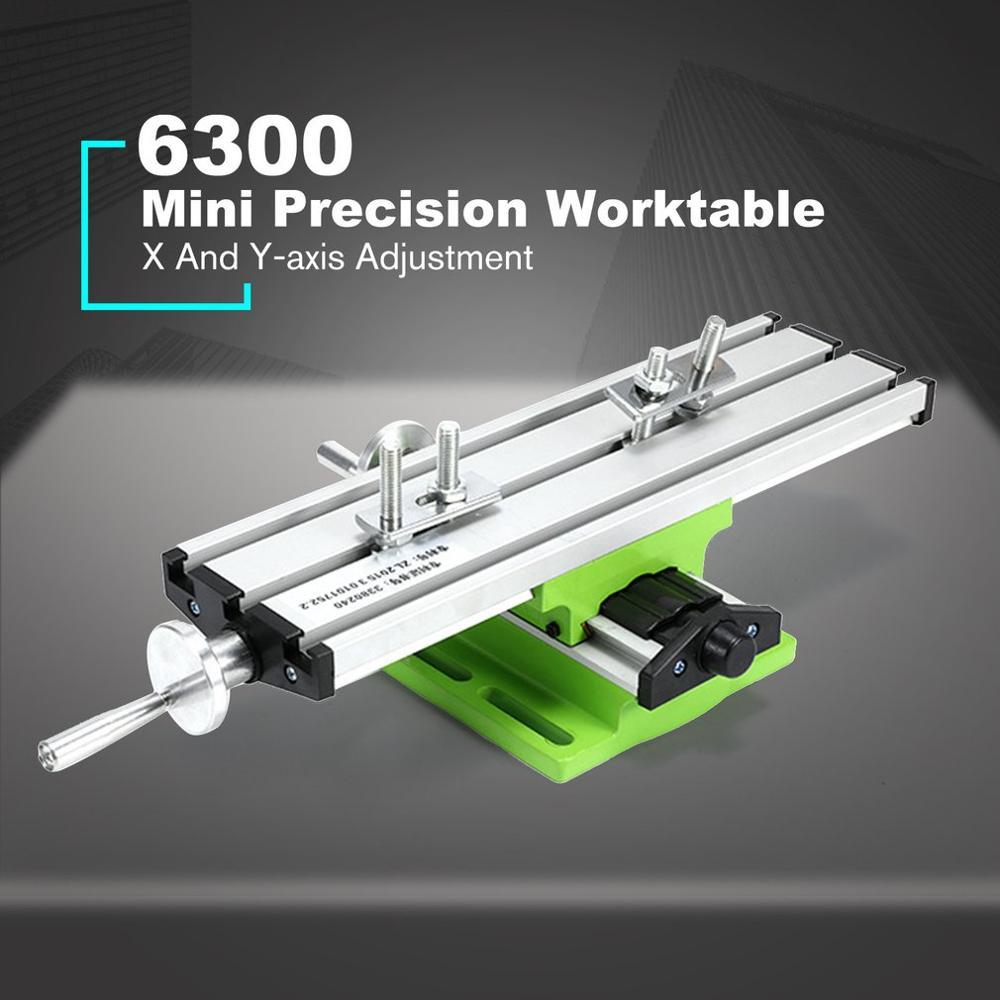 6300 точный Многофункциональный верстак с тисками приспособление для сверления