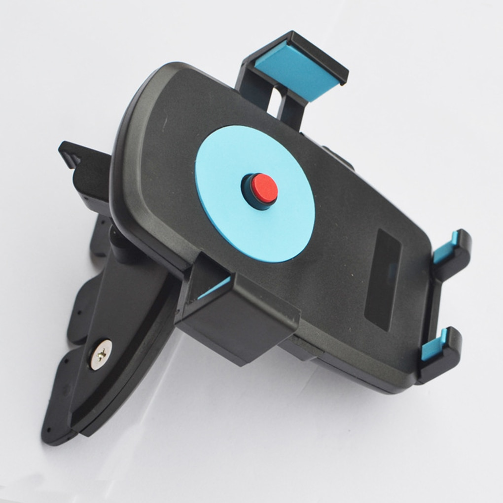 Soporte de montaje Universal para coche, soporte de teléfono para coche, soporte de ranura para reproductor de CD para teléfono inteligente