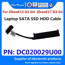 Nuevo original ordenador portátil de 2,5 pulgadas SSD SATA HDD cable para disco duro Cable de conexión para HP ZBOOK 15 G3 G4 ZBOOK 17 G3 G4 DC020029U00