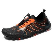 Hommes femmes chaussures de randonnée durables baskets en plein air escalade Trekking chaussures de Sport antidérapant chaussures plates unisexe Wading eau baskets