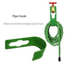 New  Plastic Garden Hose Hook Garden Irrigation Shower Nozzle Telescopic Hose Storage Rack Winding Frame Expandable Pipe Holder