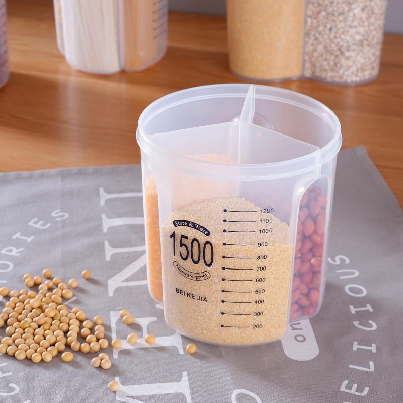 Kuhinjski spremnik za zatvorene dijelove kutija za spremanje prozirne - Organizacija i skladištenje u kući - Foto 3