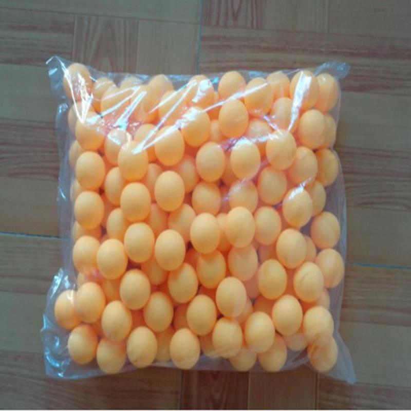 Мячи для настольного тенниса 144 шт./компл. No Word 38 мм мячи для усовершенствованной тренировки пинг-понга оранжевые
