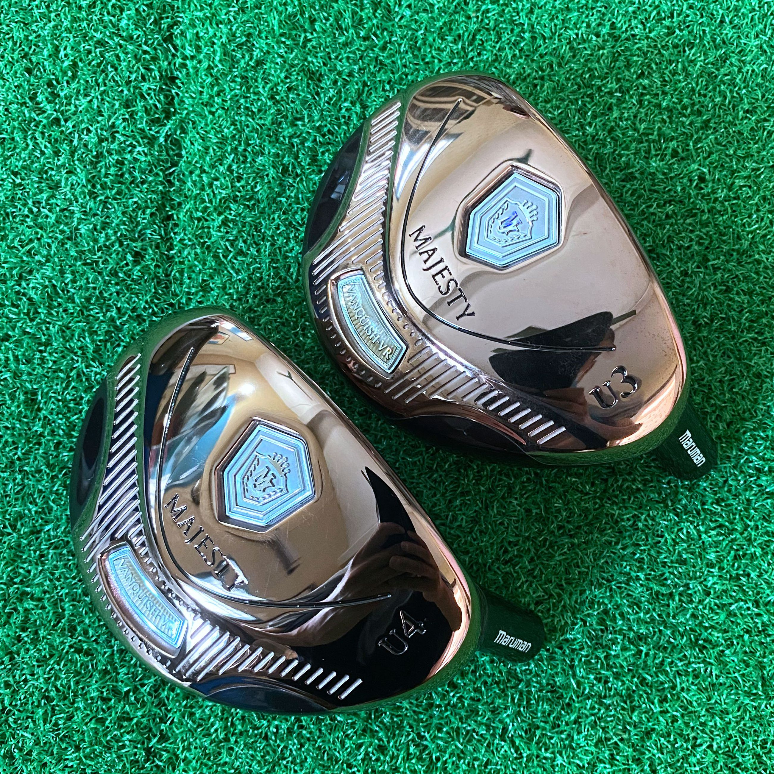 Men Golf Clubs Hybrids Head Only Malleable iron Majesty Loft 10 No Shaft Free Shipping
