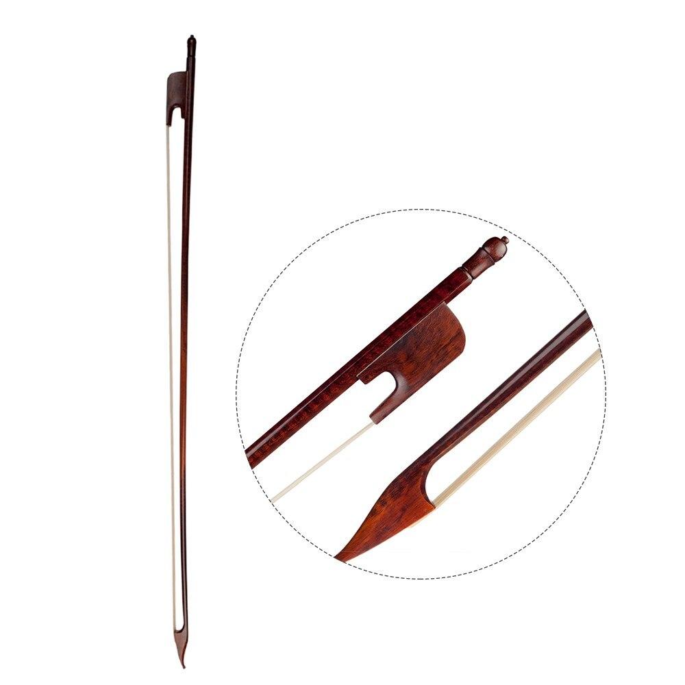 4/4 violoncelle pleine grandeur violon archet bien équilibré Style Baroque Snakewood grenouille