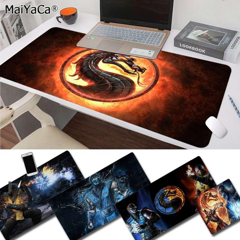 MaiYaCa New Designs Mortal Kombat DIY Design Pattern Game mousepad Rubber PC Computer Gaming mousepad