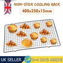 400x250x15mm siatka druciana siatka do studzenia taca ciasto żywność piekarnik przemysłowy pieczenie w kuchni Pizza chleb grill Cookie Biscuit Holder półka