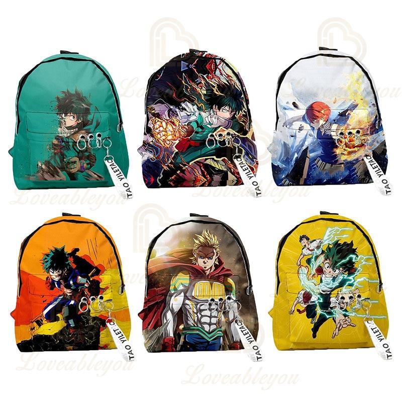 2020 nouveau Style mon héros académique Anime 3D Cool sac à dos Cosplay sac décole sac à dos hommes et femmes voyage sac à bandoulière
