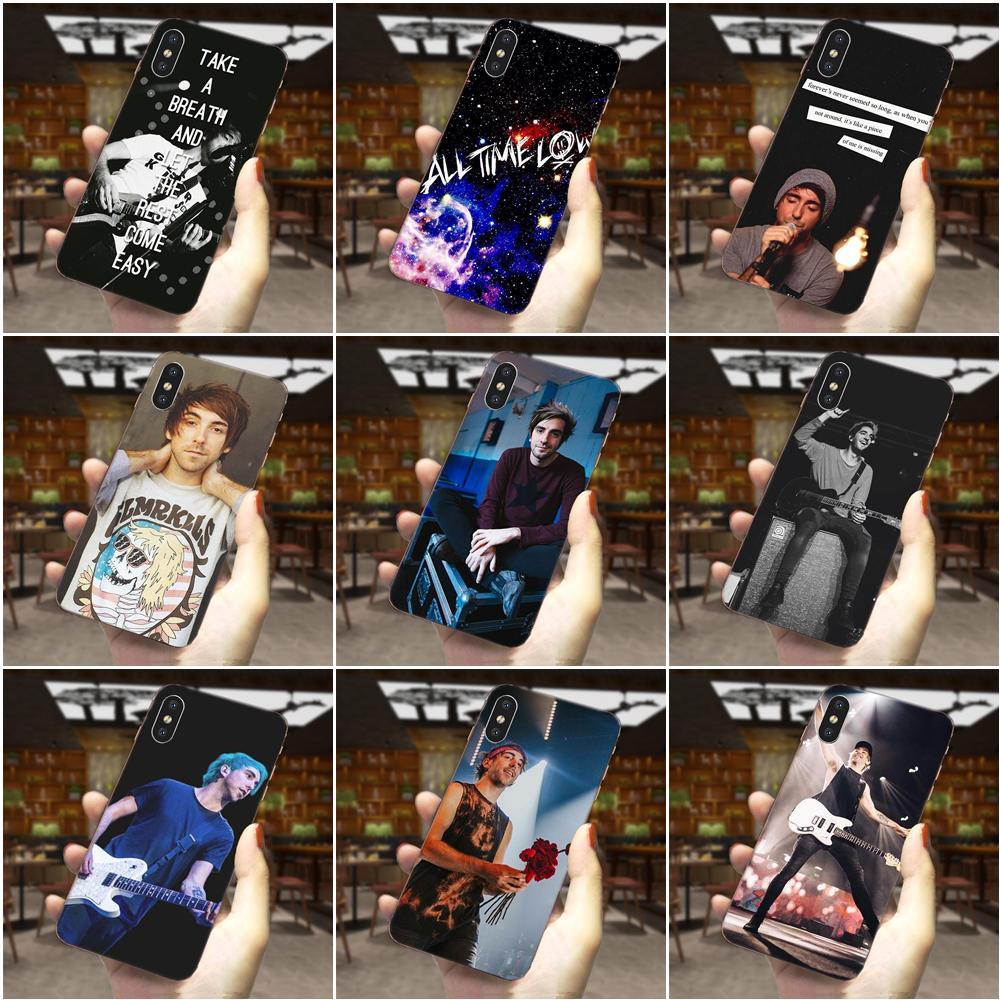 Para Huawei Honor Mate 7 7A 8 9 10 20 V8 V9 V10 V30 P40 G Lite jugar Mini Pro P Smart teléfono casos todo el tiempo bajo Alex Gaskarth