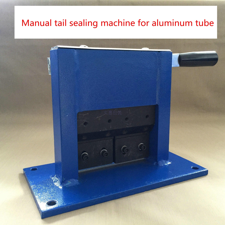 Manual Aluminum Tube Sealing Machine Tube Sealer Aluminum Laminate Tube Crimping Sealer