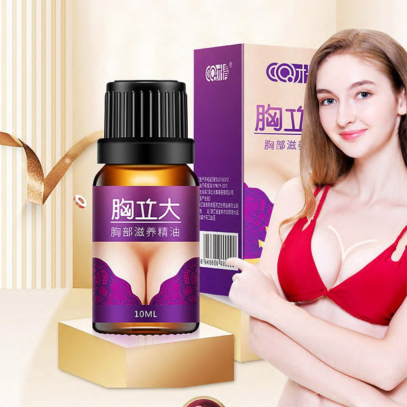 10ml Up Size Breast Nourishing Essential Oil for Breast Enhancement Boobs Fast Growth Promote Female