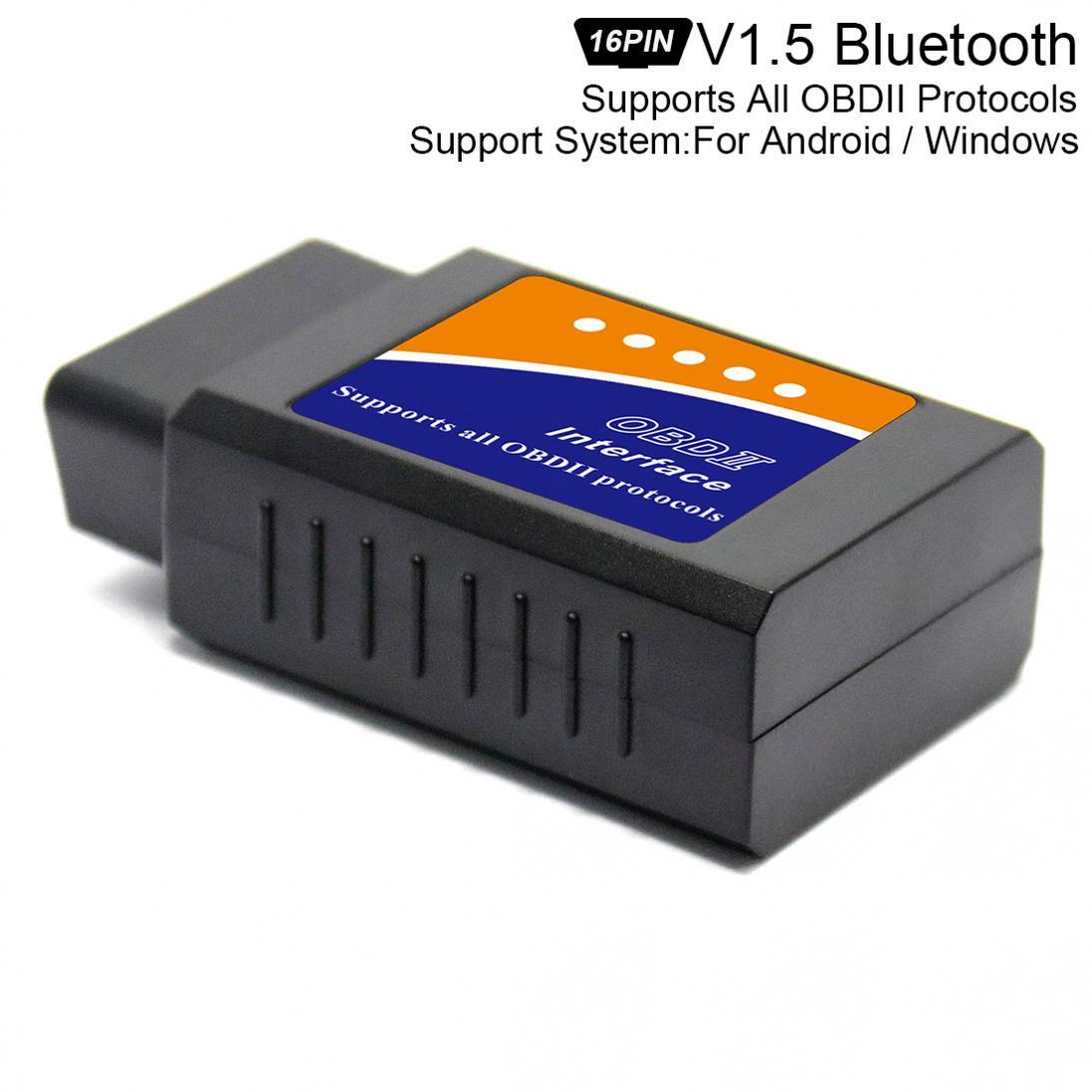 ELM327 V 1,5 Super Mini Bluetooth Scanner Wireless Interface Auto Interface Code Leser Diagnose Werkzeuge OBDII Protokolle