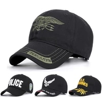 usa navy air force police army baseball caps mens caps and hats embroidery streetwear trucker hip hop dad hat summer bone czx32