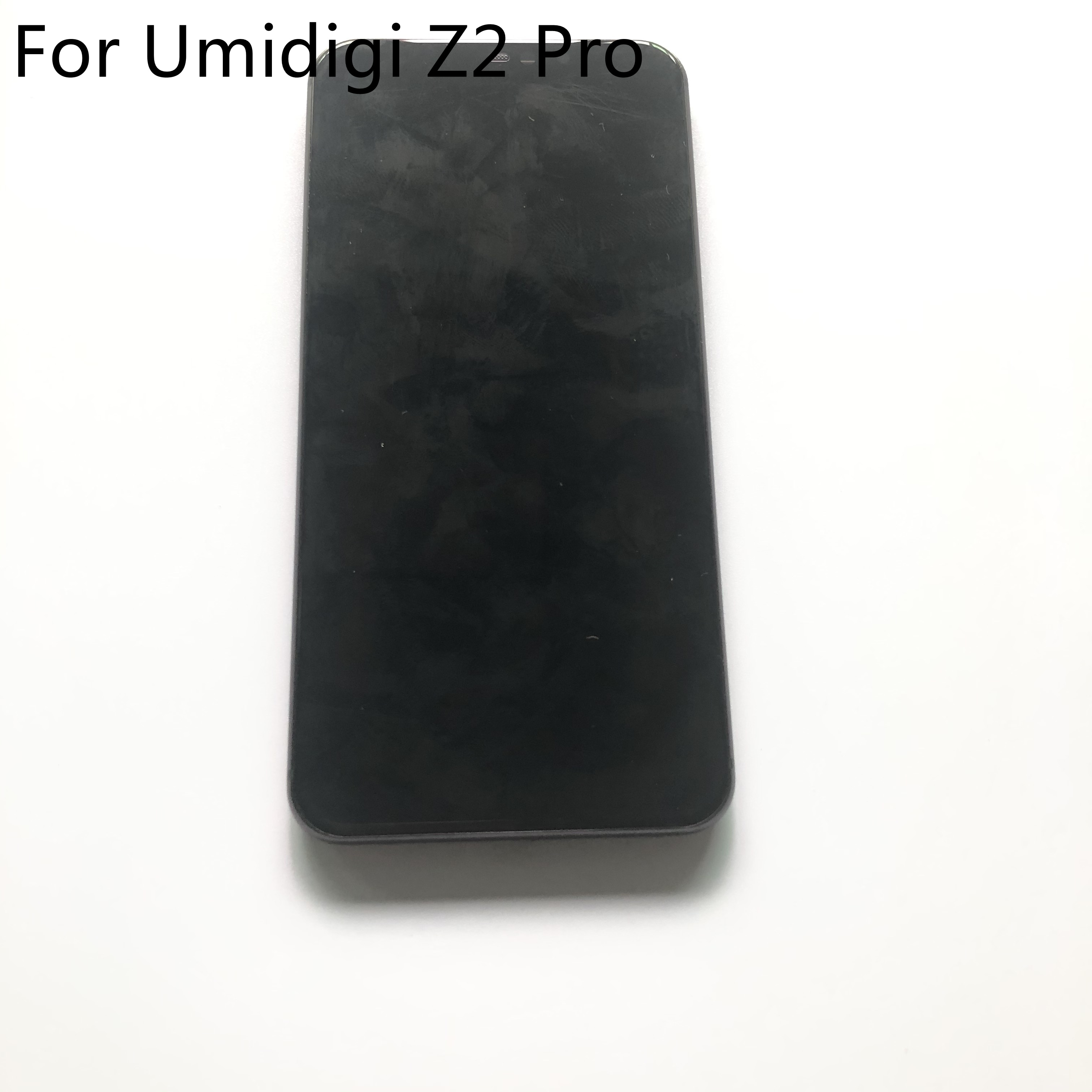 UMIDIGI Z2 Pro Used LCD Display Screen + Touch Screen + Frame For UMIDIGI Z2 Pro MTK6771 6.2 inch 2246x1080 Smartphone