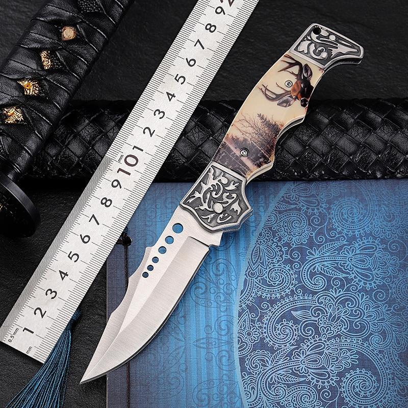 Hysenss 7CR17MOV Сталь лезвие 56HRC Открытый Тактические складные Ножи джунгли тела Охота Ножи s инструмент для очистки EDC инструменты