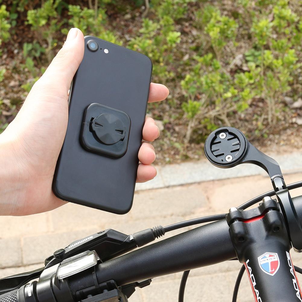 Adhesivo para teléfono bicicleta soporte para teléfono botón trasero pasta para GARMIN