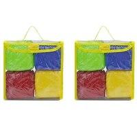 diy education playing dice pocket squares photo pocket foam stacking blocks
