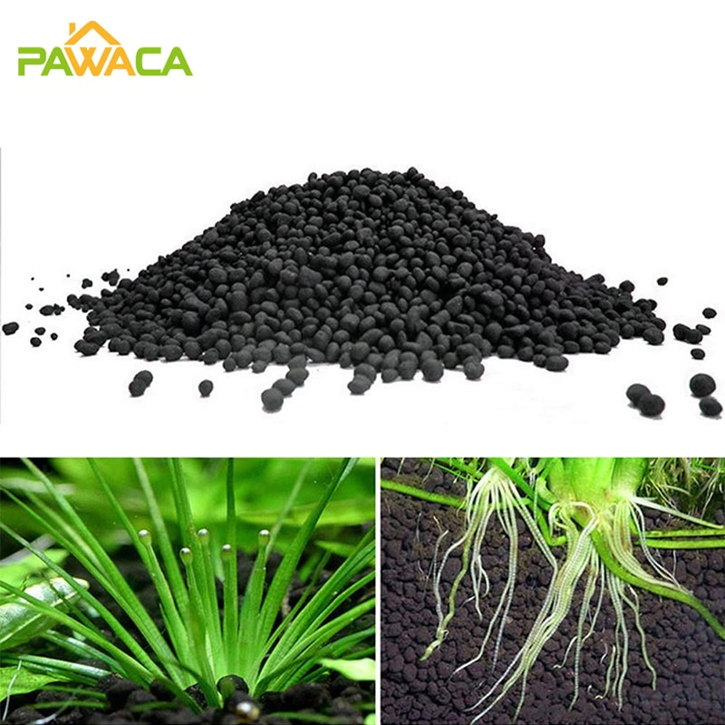 500g Aquarium Plant Seeds Soil Fish Tank Accessories Decoration Aquatic Float Water Grass Clay Cup Fertilizer Mud for Waterweeds