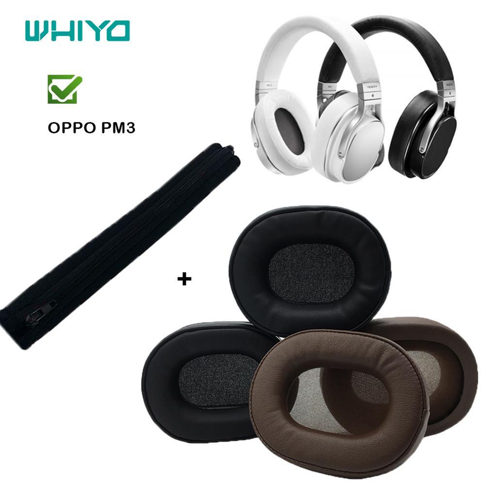 Whiyo 1 زوج من استبدال قطع الأذن عقال ل ممن لهم PM3 PM-3 PM 3 سماعة وسادة غطاء الوفير الأذن منصات Earmuff اكسسوارات