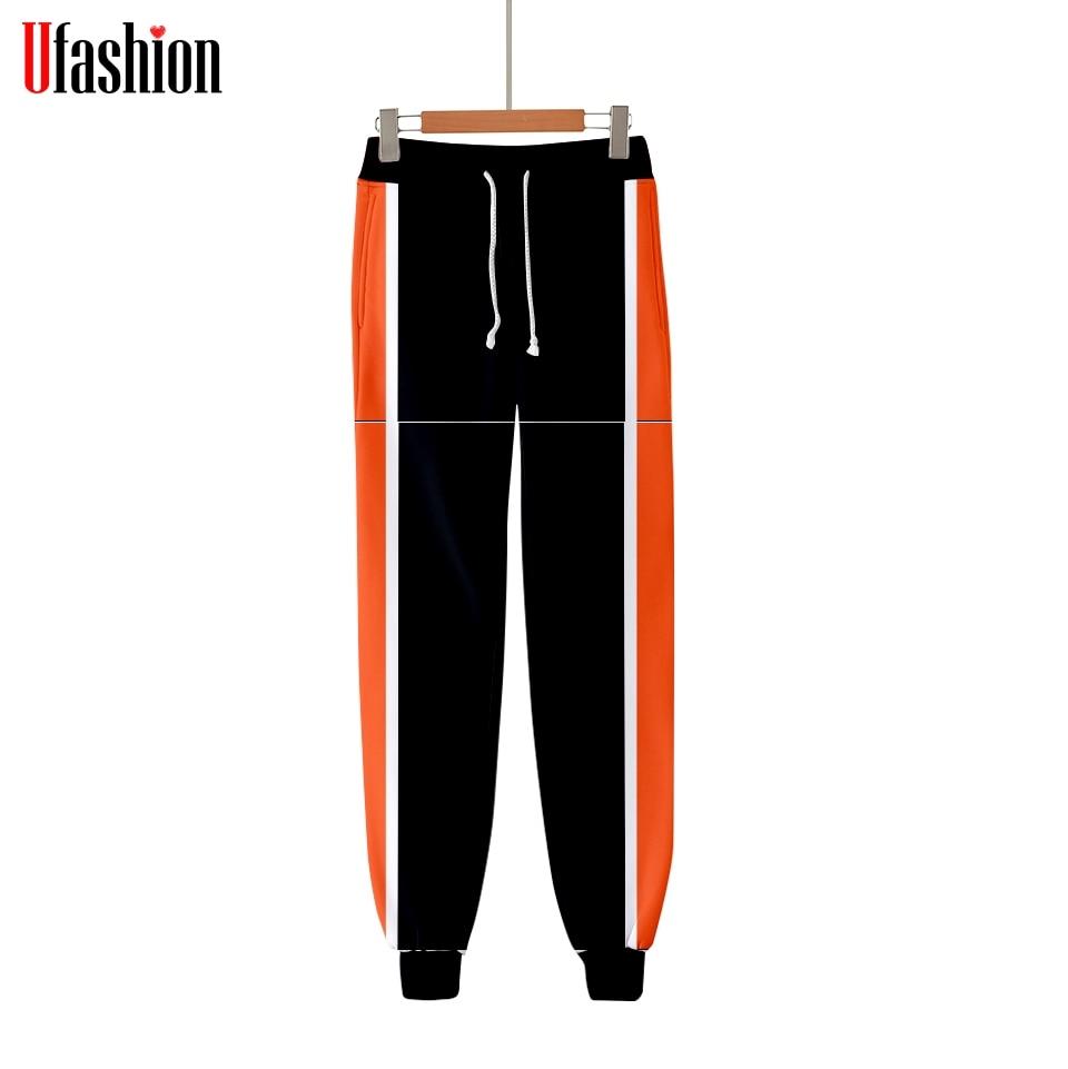 Модные повседневные штаны для бега в стиле хип-хоп, 3D, в стиле Харадзюку, с рисунком единорога, modis, повседневные теплые модные брюки, тонкие м...