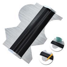 Metall Edelstahl Profil Kontur Gauge Vorlage Fliesen Sockel Laminat Profil Holz Lineal Mess Werkzeuge