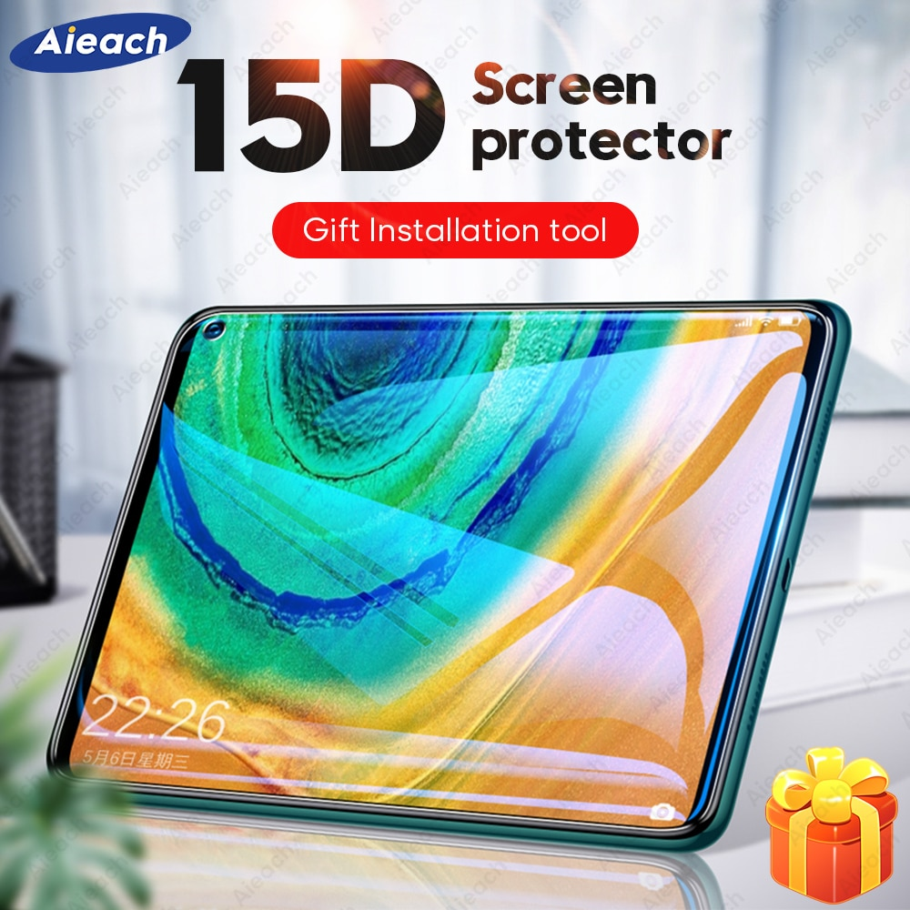 15D Curved Protective Glass Film For Huawei MatePad Pro 5G 10.8 Screen Protector For Huawei MatePad