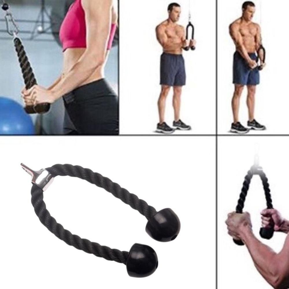 Cable de nailon para entrenamiento de tríceps y bíceps, accesorio de cuerda...