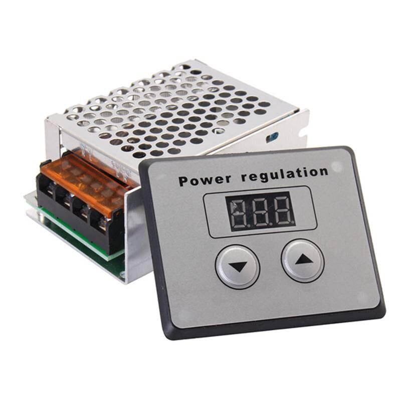 Boutique pratique 4000W 220V AC SCR régulateur de tension gradateur moteur électrique régulateur de température de vitesse pour chauffe-eau petit