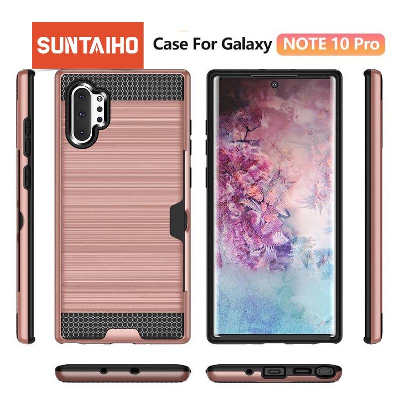 Suntaiho para Samsung Galaxy S9 S8 Plus S7 Edge a8 2018 funda armadura de silicona a prueba de golpes para Samsung S 8 9 Plus