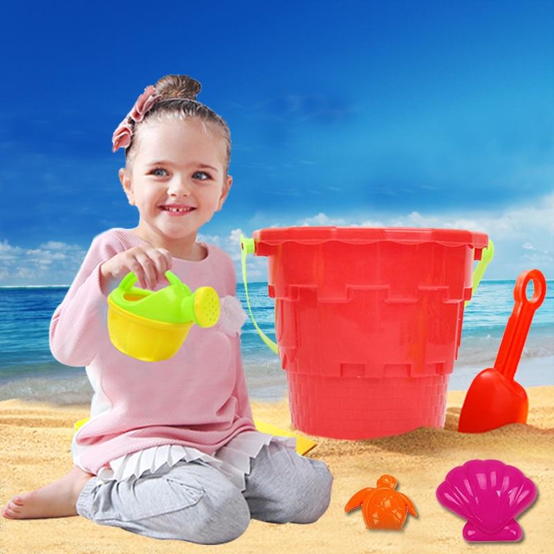 14 conjuntos de crianças praia brinquedo carro terno do bebê jogar com areia escavada ferramenta