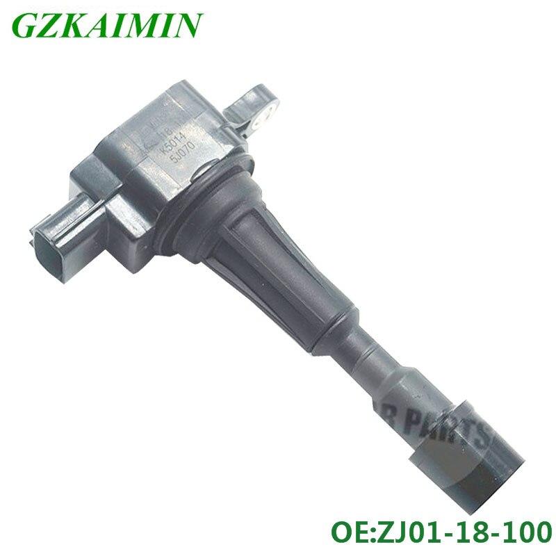 1 шт. новая катушка упаковка OEM ZJ20-18-100 ZJ2018100 zj01-18-100 AIC4051 AIC-4051 для MAZDA 3 катушка зажигания