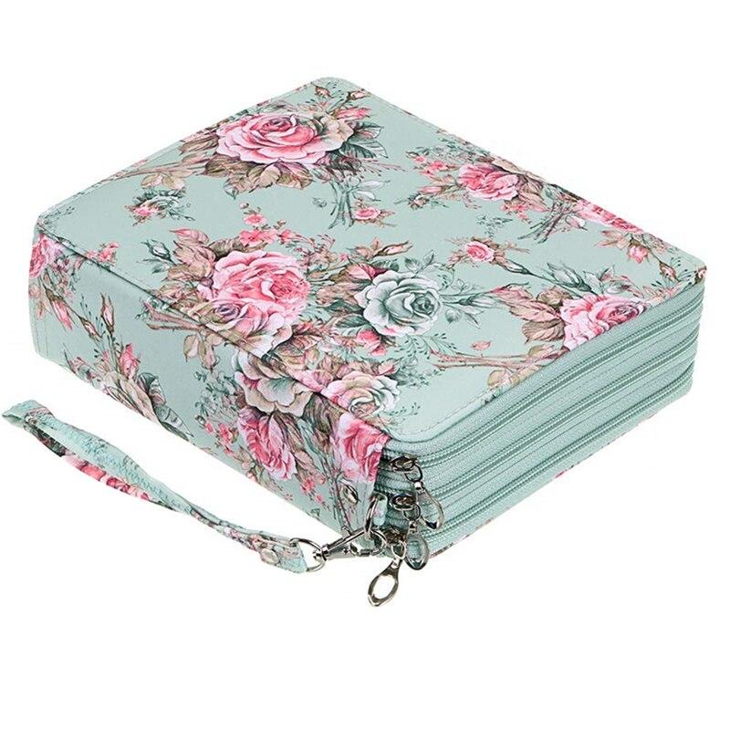 Kawaii lápis caso grande 120 buracos caneta caixa para meninas meninos de volta à escola pencilcase grande bonito cartucho penal saco papelaria kit