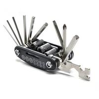 bicycle repair combination tool multifunctional folding repair tire repair wrench mountain repair tools
